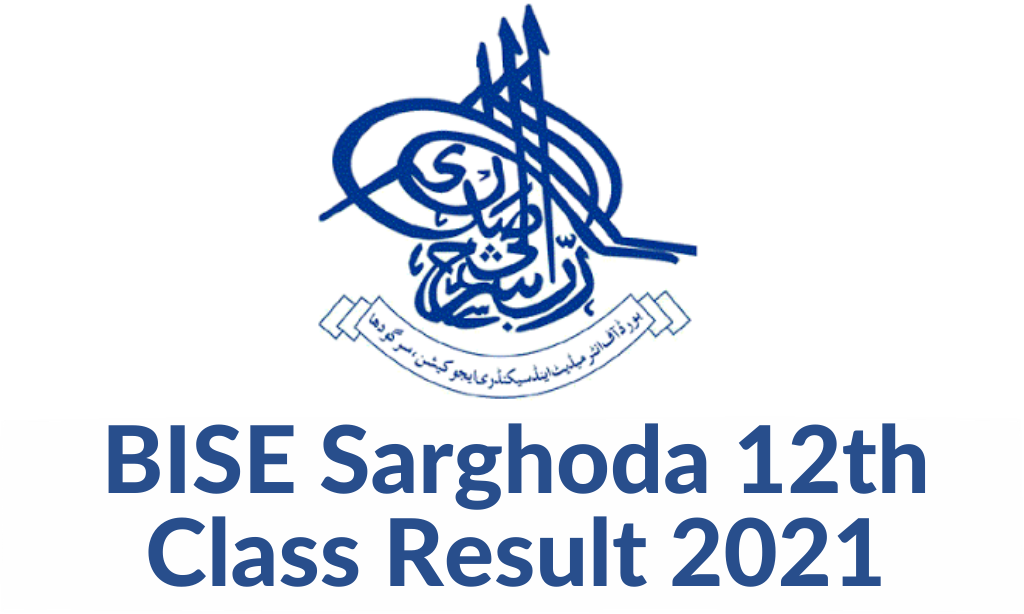 BISE Sarghoda 12th Class Result 2021